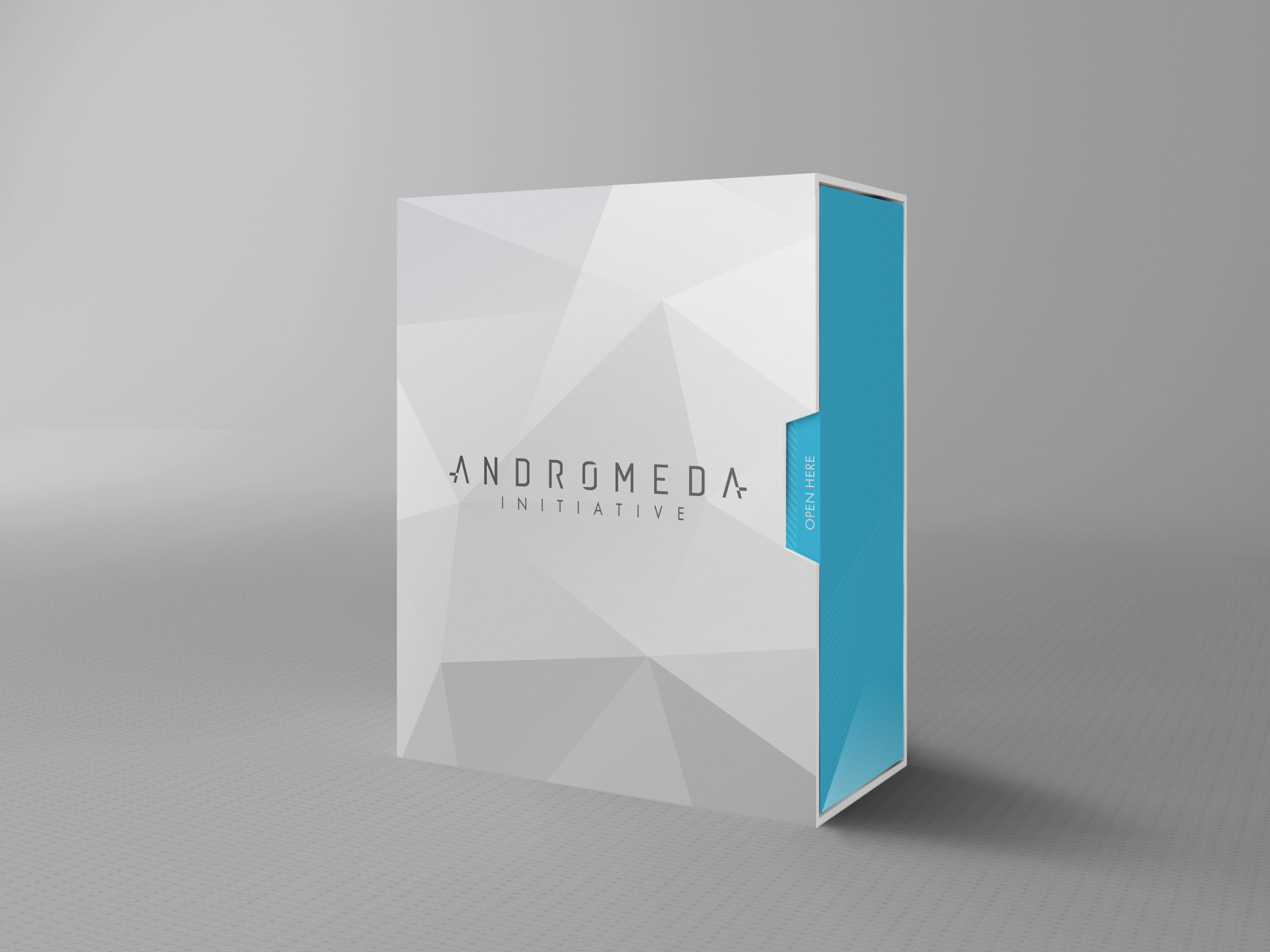 Andromeda Initiative - EA UK Influencer Kit mockup